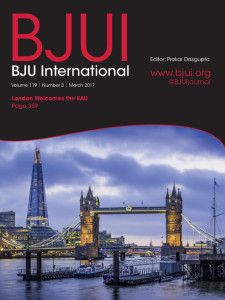 BJUI cover March 2017